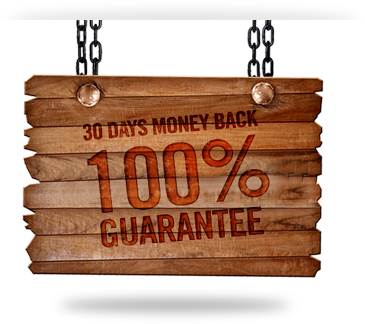 30 Days Money Back 100% Guarantee